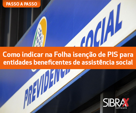 entidades beneficentes de assistência social isentas de PIS